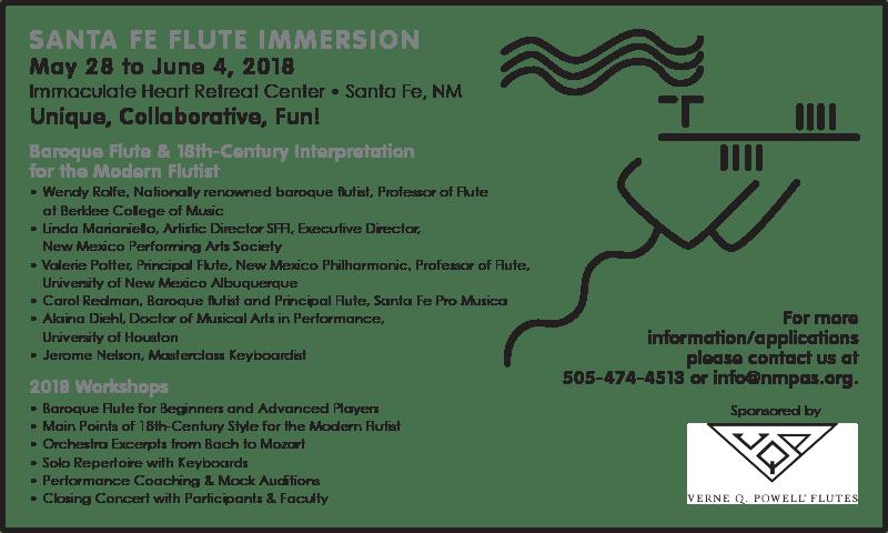 NMPAS Flute Immersion 2018